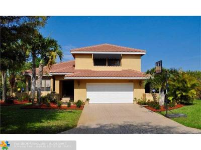 Coral Springs Single Family Home Sold: 4773 NW 58th Ter