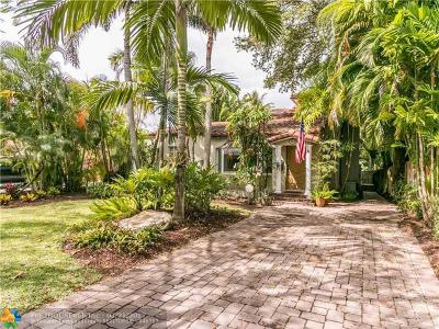 Fort Lauderdale Single Family Home For Sale: 123 NE 17th Ave