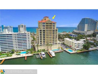 Fort Lauderdale Condo/Townhouse Sold: 209 N Birch Road #402