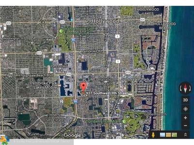 Hallandale Residential Lots & Land For Sale: 927 SW 9 St