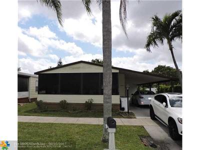 Coconut Creek Single Family Home Backup Contract-Call LA: 3862 NW 67th St
