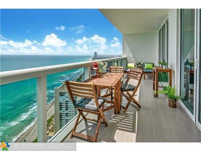 Hallandale Condo/Townhouse For Sale: 1850 S Ocean Dr #3903