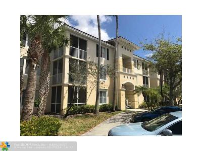 Coral Springs Condo/Townhouse For Sale: 11721 W Atlantic Blvd #733
