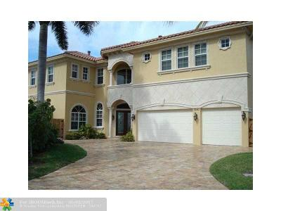 Pompano Beach Single Family Home For Sale: 1261 NE 27th Way
