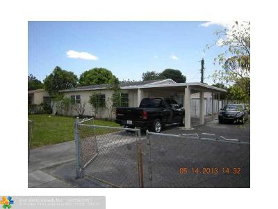 Fort Lauderdale Single Family Home For Sale: 2236 SW 13th St