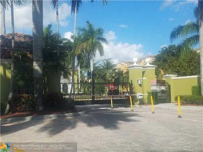 Miramar Condo/Townhouse Backup Contract-Call LA: 2151 W Preserve Way #203