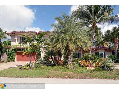 Fort Lauderdale Single Family Home For Sale: 2825 NE 35th Ct