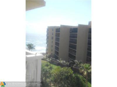 Hillsboro Beach Condo/Townhouse For Sale: 1169 Hillsboro Mile #715