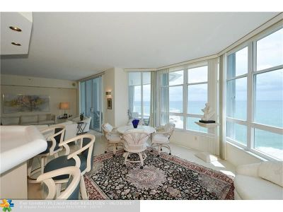 Lauderdale By The Sea Condo/Townhouse For Sale: 1440 S Ocean Blvd #15-D