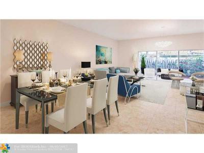 Pompano Beach Condo/Townhouse For Sale: 2507 NE 2nd St #2