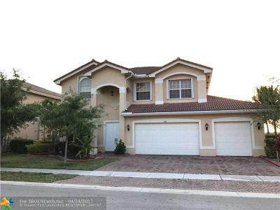 Miramar Single Family Home Backup Contract-Call LA: 4156 SW 179th Way
