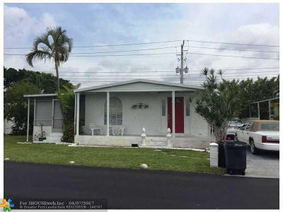 Fort Lauderdale Single Family Home For Sale: 3025 SW 54th St