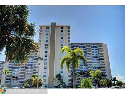 Fort Lauderdale Condo/Townhouse For Sale: 3200 NE 36th St #519