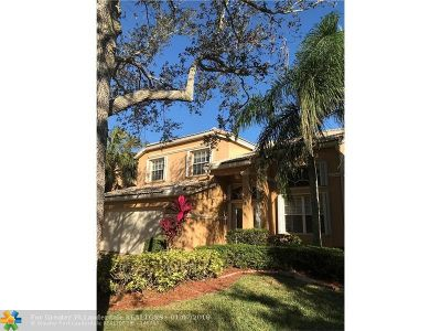 Coral Springs Single Family Home For Sale: 5445 NW 106th Dr