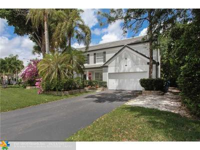 Coral Springs Single Family Home For Sale: 7537 Live Oak Dr