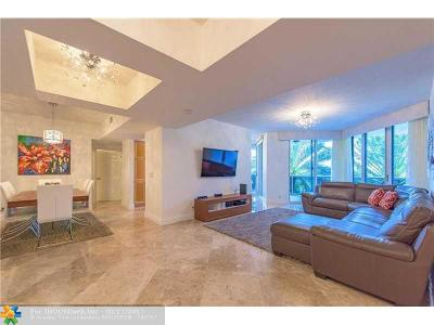 Fort Lauderdale Condo/Townhouse For Sale: 3100 N Ocean Blvd #406