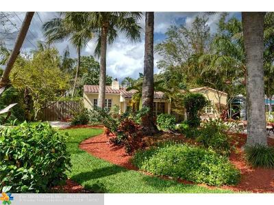 Fort Lauderdale Single Family Home For Sale: 847 SW 10th St