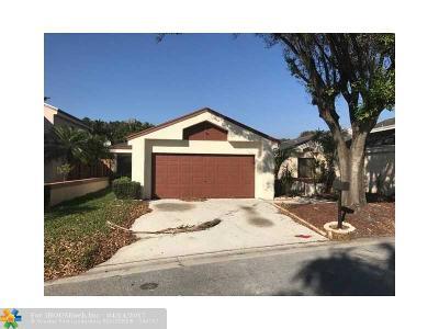 Coconut Creek Single Family Home Backup Contract-Call LA: 3341 NW 22 Ct
