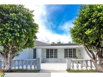 Fort Lauderdale Single Family Home For Sale: 2251 NE 62nd St