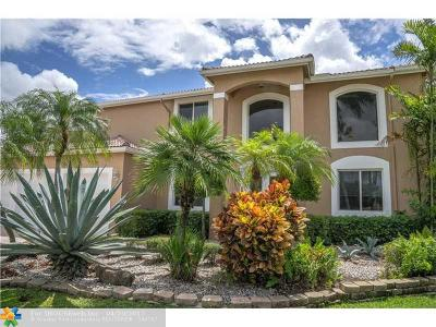 Coral Springs Single Family Home For Sale: 4963 NW 106th Way