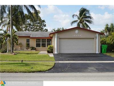 Single Family Home Sold: 10840 NW 29th Mnr