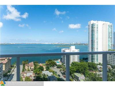 Miami Condo/Townhouse For Sale: 600 NE 27th St #1702