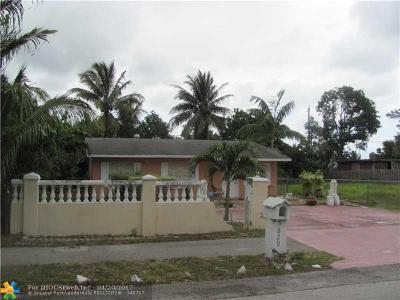 West Palm Beach Single Family Home For Sale: 5829 Papaya Rd
