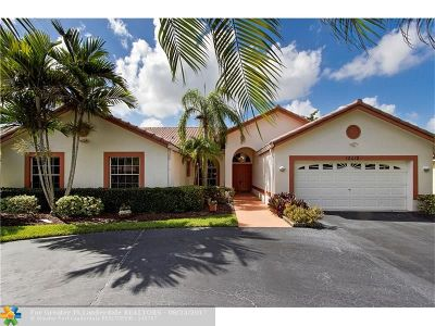 Coral Springs Single Family Home For Sale: 12210 NW 2nd St