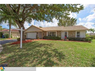 Coral Springs Single Family Home Sold: 6632 NW 48th St