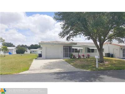 Plantation Single Family Home For Sale: 1020 NW 89th Way