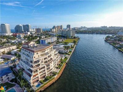 Fort Lauderdale Condo/Townhouse For Sale: 615 Bayshore Dr #402