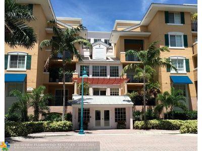 Delray Beach Condo/Townhouse Backup Contract-Call LA: 255 NE 3rd Ave #516