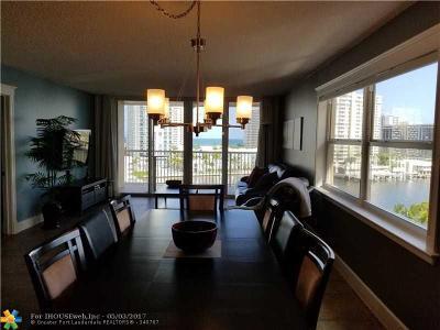Hallandale Condo/Townhouse Backup Contract-Call LA: 121 Golden Isles Dr #806