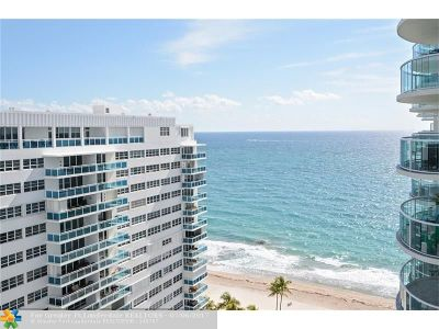 Condo/Townhouse For Sale: 3410 Galt Ocean Dr #1709