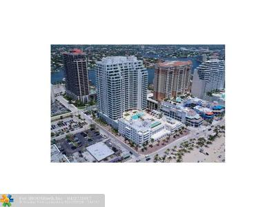 Fort Lauderdale Condo/Townhouse For Sale: 101 S Fort Lauderdale Beach Blvd #508