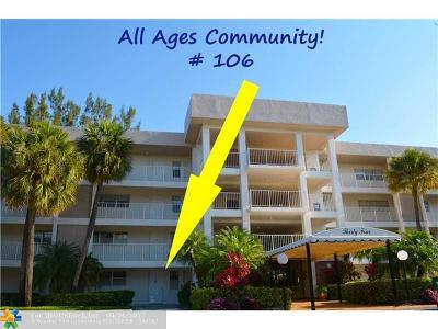 Pompano Beach Condo/Townhouse For Sale: 3051 S Palm Aire Dr #106