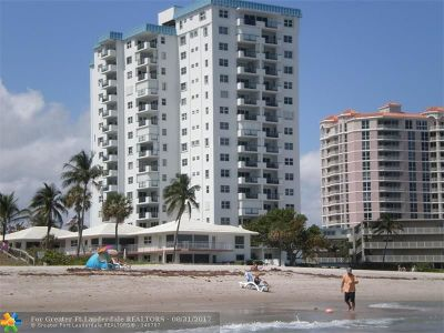 Lauderdale By The Sea Condo/Townhouse For Sale: 1500 S Ocean Blvd #908
