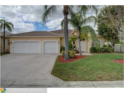 Parkland Single Family Home For Sale: 5957 NW 73rd Ct