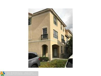 Davie Condo/Townhouse For Sale: 781 SW 148th Ave #1515