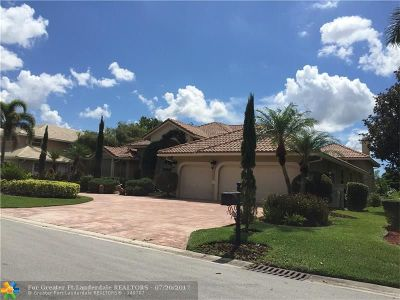 Coral Springs Single Family Home For Sale: 1741 NW 126th Dr