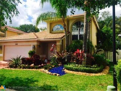 Sunrise Single Family Home For Sale: 2445 NW 139th Ave