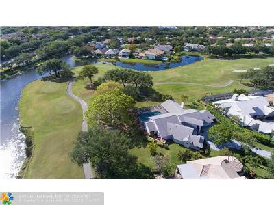 Coral Springs Single Family Home For Sale: 1815 Eagle Trace Blvd