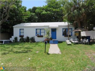 Deerfield Beach Single Family Home Backup Contract-Call LA: 1956 NE 2nd St