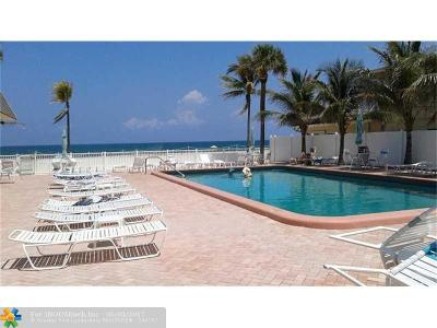 Lauderdale By The Sea Condo/Townhouse For Sale: 4540 N Ocean Dr #306
