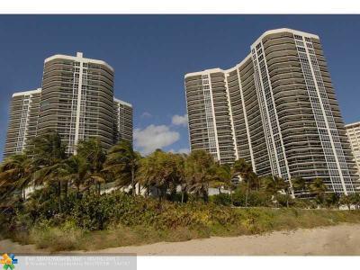 Fort Lauderdale Condo/Townhouse Sold: 3100 N Ocean Blvd #1801