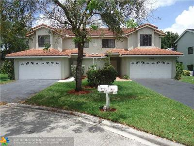 Coral Springs Multi Family Home For Sale: 11531 NW 42nd St