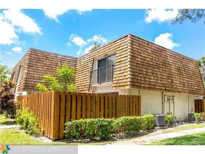 Davie Condo/Townhouse Backup Contract-Call LA: 8901 Orange Grove Dr #D