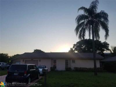 Coral Springs Single Family Home For Sale: 1252 NW 87th Av