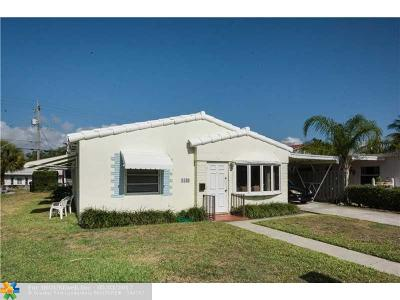 Lauderdale By The Sea Single Family Home For Sale: 4449 Poinciana St