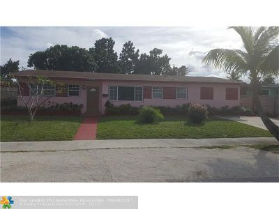 Miami Gardens Single Family Home For Sale: 40 NW 186th Ter